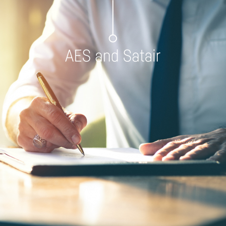 AES and Satair collaboration 2021